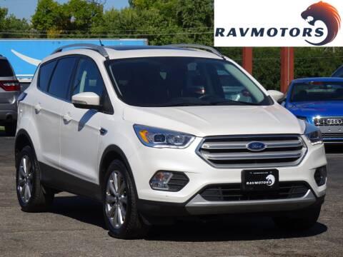 2018 Ford Escape for sale at RAVMOTORS in Burnsville MN