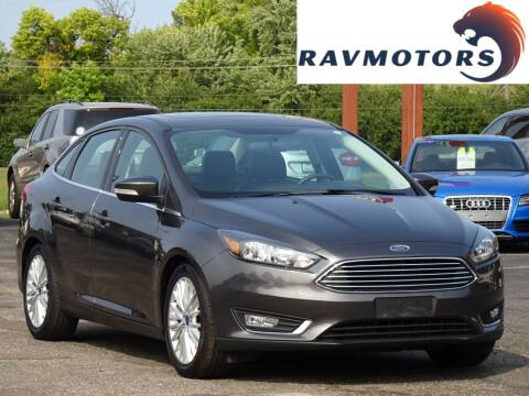 2015 Ford Focus for sale at RAVMOTORS in Burnsville MN