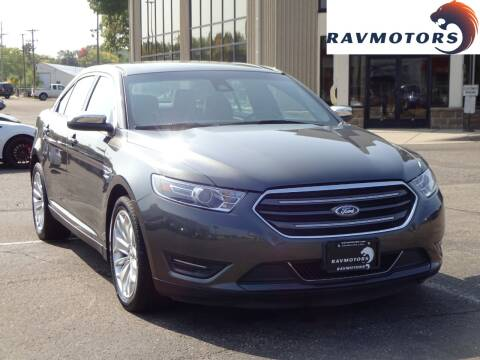 2017 Ford Taurus for sale at RAVMOTORS 2 in Crystal MN