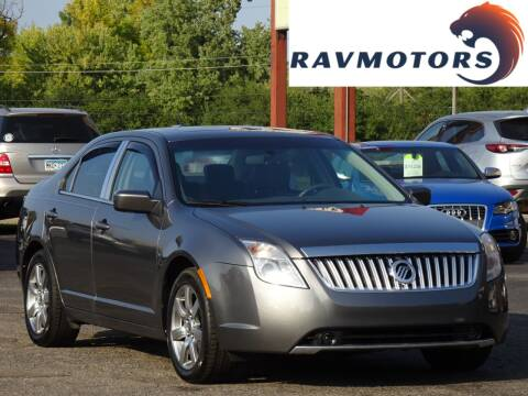 2010 Mercury Milan for sale at RAVMOTORS in Burnsville MN