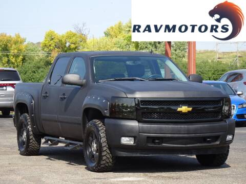 2008 Chevrolet Silverado 1500 for sale at RAVMOTORS in Burnsville MN