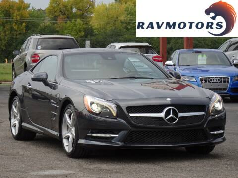 2015 Mercedes-Benz SL-Class for sale at RAVMOTORS in Burnsville MN