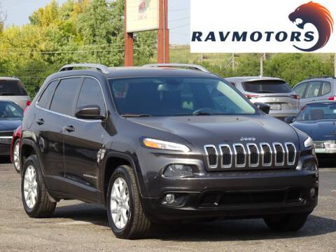 2016 Jeep Cherokee for sale at RAVMOTORS in Burnsville MN
