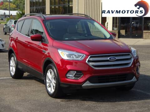 2018 Ford Escape for sale at RAVMOTORS 2 in Crystal MN