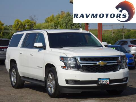 2017 Chevrolet Suburban for sale at RAVMOTORS in Burnsville MN