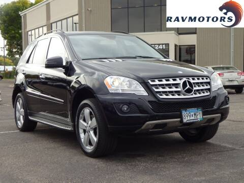 2011 Mercedes-Benz M-Class for sale at RAVMOTORS 2 in Crystal MN
