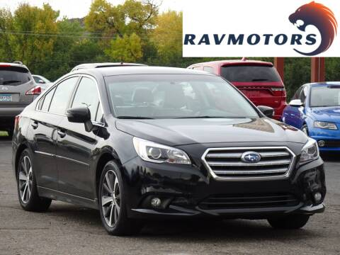 2015 Subaru Legacy for sale at RAVMOTORS in Burnsville MN