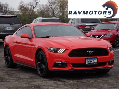 2016 Ford Mustang for sale at RAVMOTORS in Burnsville MN