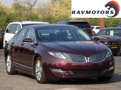 2013 Lincoln MKZ for sale at RAVMOTORS in Burnsville MN