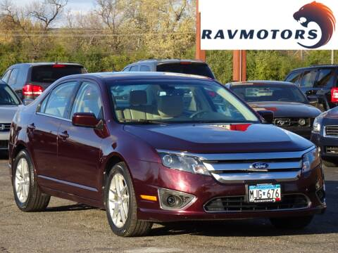 2012 Ford Fusion for sale at RAVMOTORS in Burnsville MN