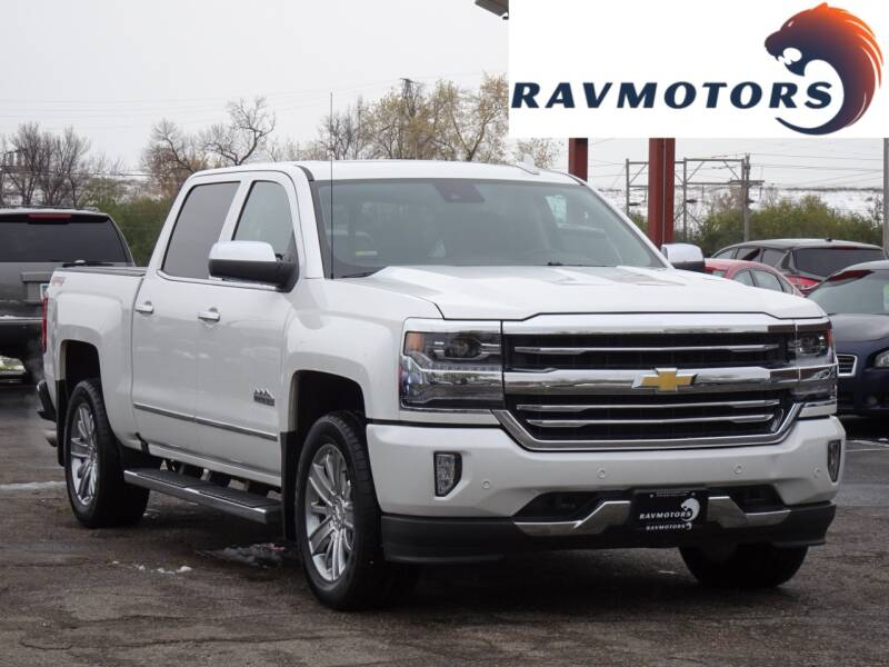2018 Chevrolet Silverado 1500 for sale at RAVMOTORS in Burnsville MN