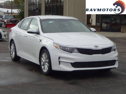 2017 Kia Optima for sale at RAVMOTORS 2 in Crystal MN