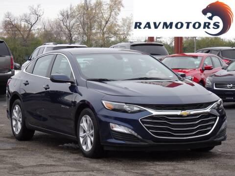 2020 Chevrolet Malibu for sale at RAVMOTORS in Burnsville MN