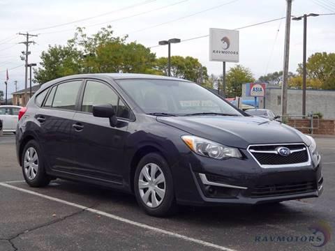 2015 Subaru Impreza for sale in Crystal, MN