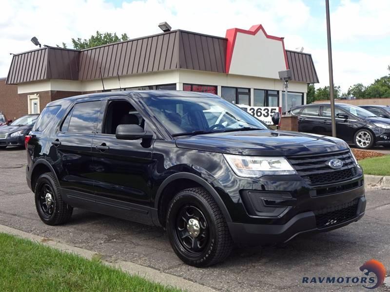 2016 Ford Explorer Awd Police Interceptor 4dr Suv In