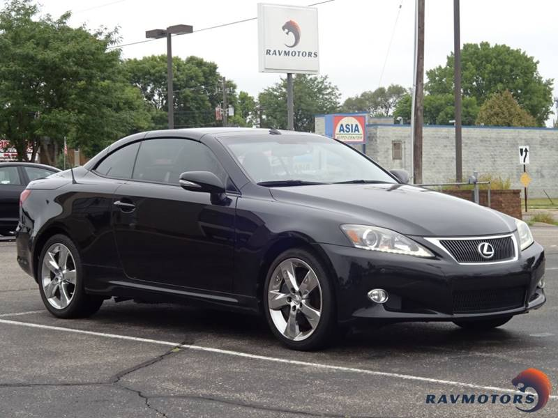 2011 Lexus IS 350C 2dr Convertible   Crystal MN