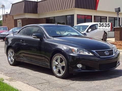 2011 Lexus IS 350C for sale in Burnsville, MN