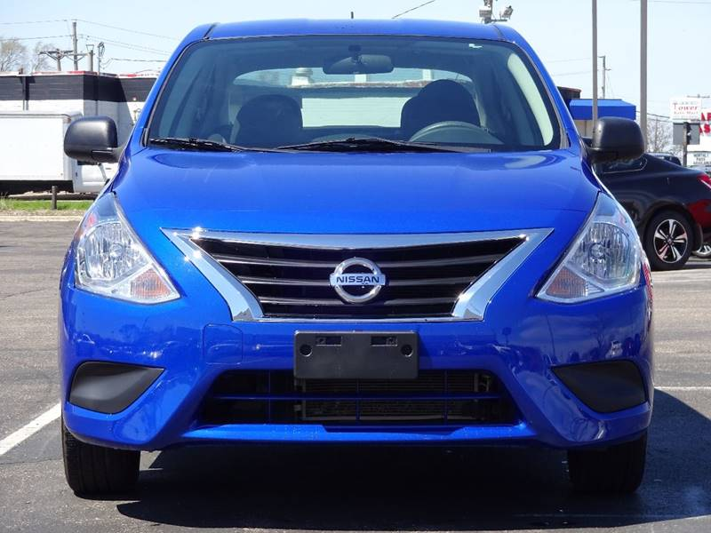 2015 Nissan Versa 1.6 S 4dr Sedan 4A - Crystal MN