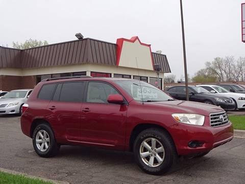 2008 Toyota Highlander for sale in Burnsville, MN