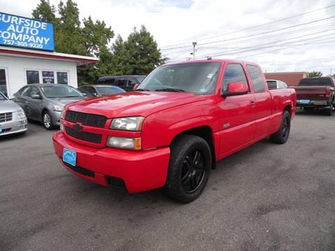 2003 Chevrolet Silverado 1500 SS for sale in Norfolk, VA