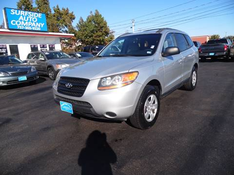 2009 Hyundai Santa Fe for sale at Surfside Auto Company in Norfolk VA