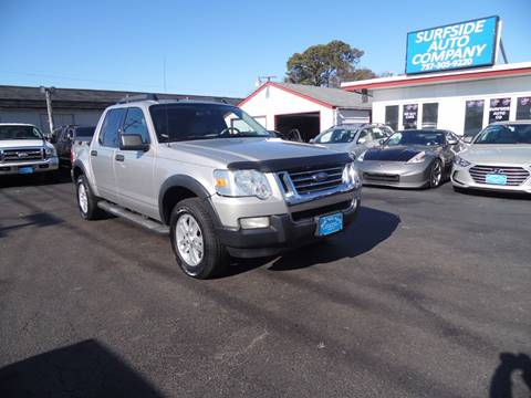 2007 Ford Explorer Sport Trac for sale at Surfside Auto Company in Norfolk VA