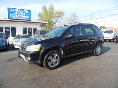 2007 Pontiac Torrent for sale at Surfside Auto Company in Norfolk VA
