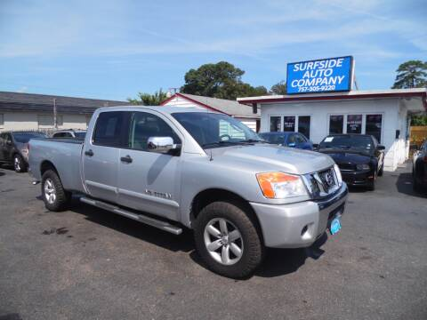 2008 Nissan Titan for sale at Surfside Auto Company in Norfolk VA