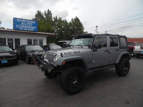2015 Jeep Wrangler Unlimited for sale at Surfside Auto Company in Norfolk VA