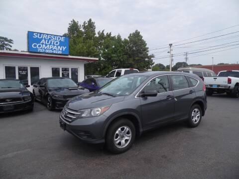 2014 Honda CR-V for sale at Surfside Auto Company in Norfolk VA