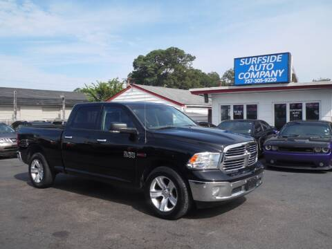 2014 RAM Ram Pickup 1500 for sale at Surfside Auto Company in Norfolk VA