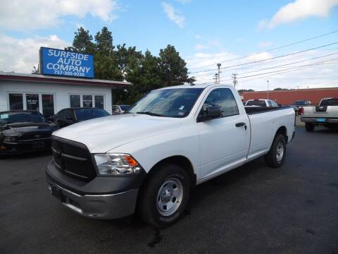2013 RAM Ram Pickup 1500 for sale at Surfside Auto Company in Norfolk VA