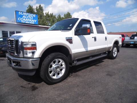 2009 Ford F-250 Super Duty for sale at Surfside Auto Company in Norfolk VA