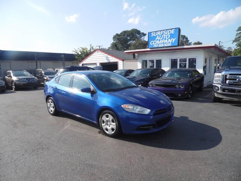 2014 Dodge Dart for sale at Surfside Auto Company in Norfolk VA