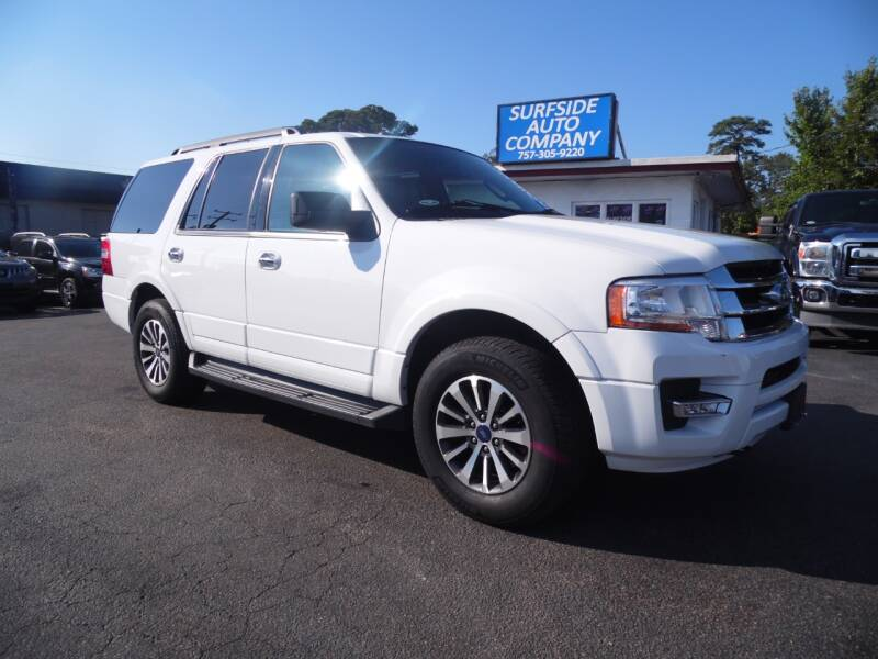 2017 Ford Expedition for sale at Surfside Auto Company in Norfolk VA