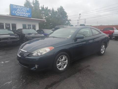 2004 Toyota Camry Solara for sale at Surfside Auto Company in Norfolk VA