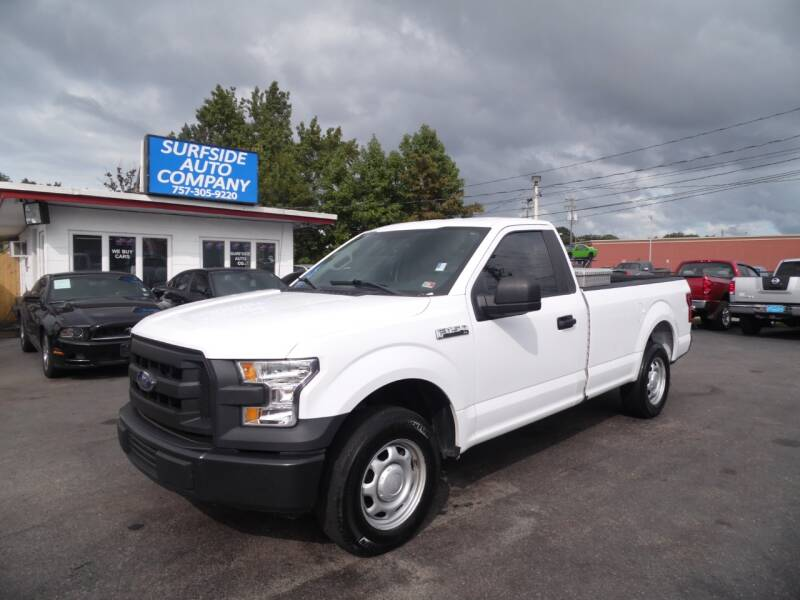 2017 Ford F-150 for sale at Surfside Auto Company in Norfolk VA