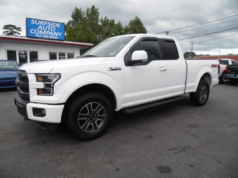 2015 Ford F-150 for sale at Surfside Auto Company in Norfolk VA