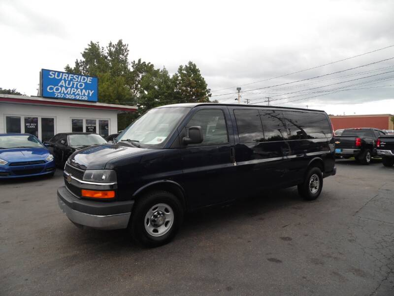 2014 Chevrolet Express Passenger for sale at Surfside Auto Company in Norfolk VA