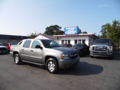 2009 Chevrolet Avalanche for sale at Surfside Auto Company in Norfolk VA