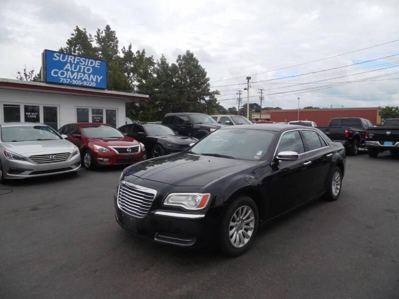 2012 Chrysler 300 for sale at Surfside Auto Company in Norfolk VA