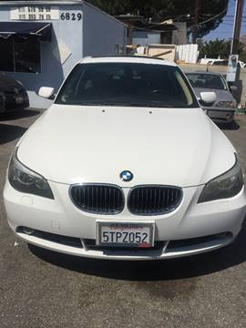 2006 BMW 5 Series for sale in Tujunga, CA