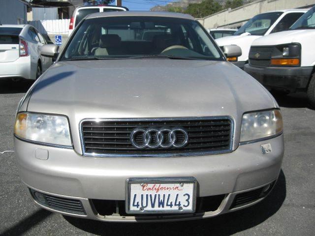 Audi A In Tujunga CA Star View - 2001 audi a6