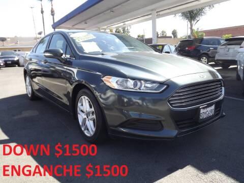 2016 Ford Fusion for sale at PACIFICO AUTO SALES in Santa Ana CA