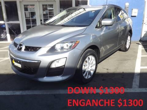 2012 Mazda CX-7 for sale at PACIFICO AUTO SALES in Santa Ana CA
