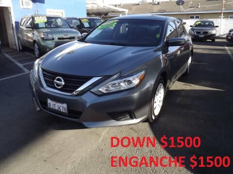 2016 Nissan Altima for sale at PACIFICO AUTO SALES in Santa Ana CA