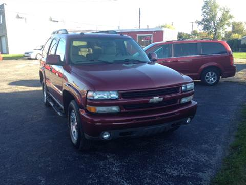 2005 Chevrolet Tahoe for sale in Shelbyville, IN