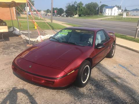1988 Pontiac Fiero for sale in Shelbyville, IN