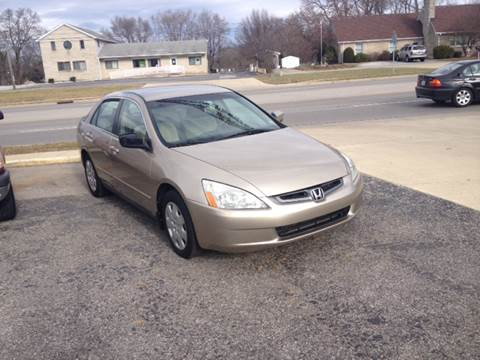 2003 Honda Accord for sale in Shelbyville, IN