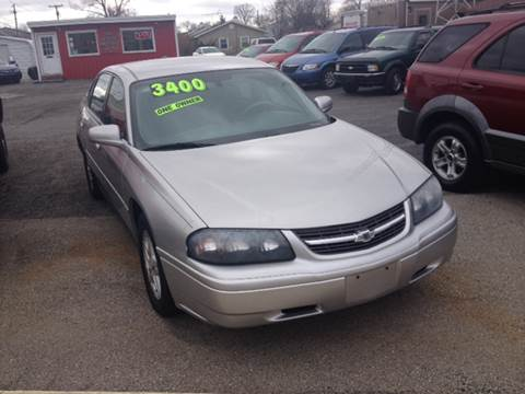 2005 Chevrolet Impala for sale in Shelbyville, IN
